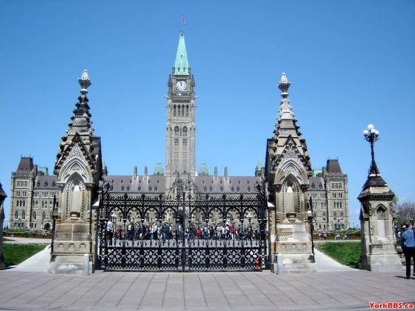 加拿大著名地标:国会山