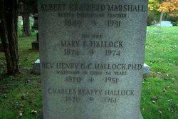 Rev Henry G. C. Hallock