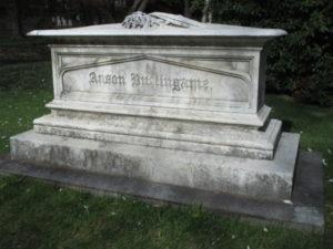 Anson Burlingame Tomb