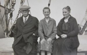 Reverend William Edwin & Mary Belle (Ault) Hoy, with Inis.